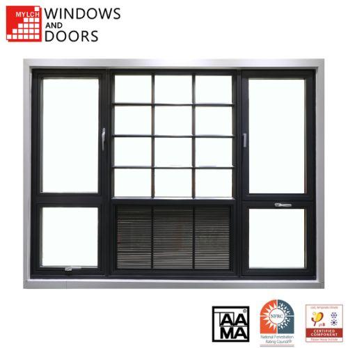 AAMA Certified AW80 level Thermal Break Aluminium/Aluminum window system