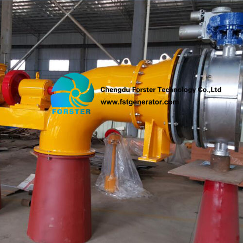 Low Head Bulb Tubular Turbine Generator