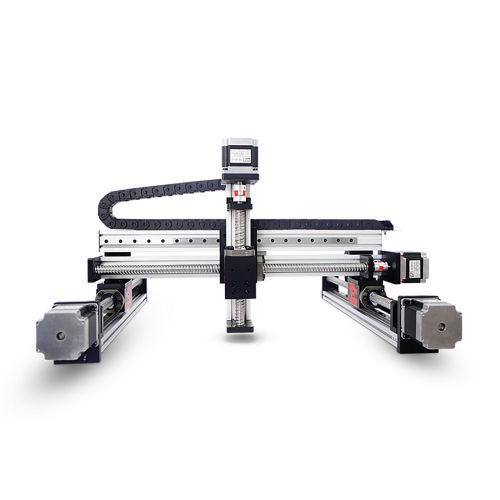 XYZ Table Motorized Linear Guide Rail Cartesian Robot Arm
