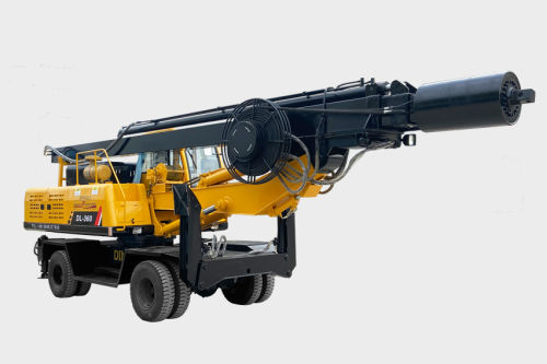 Wheel rotary Drilling Rig DL-360 for Sale