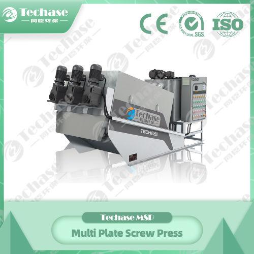 Techase Multi Plate Screw Press