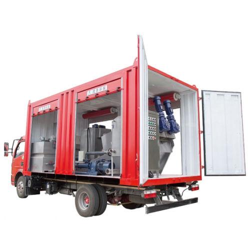 Mobile Sludge Dewatering System