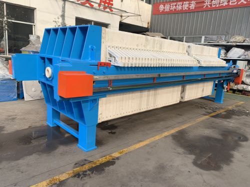 Auto Feeding High Efficiency Shen Hong Fa Membrane Filter Press for Sewage Water Treatment Plant