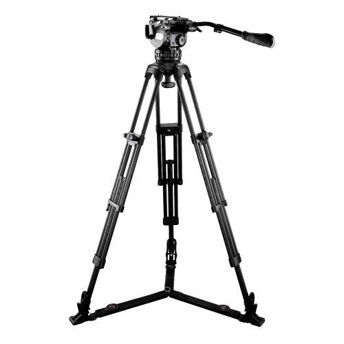 EG15C2 carbon fiber camera fluid tripod