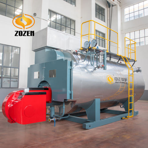 15t/H Wns Gas Oil Fired Steam Boiler Industrial