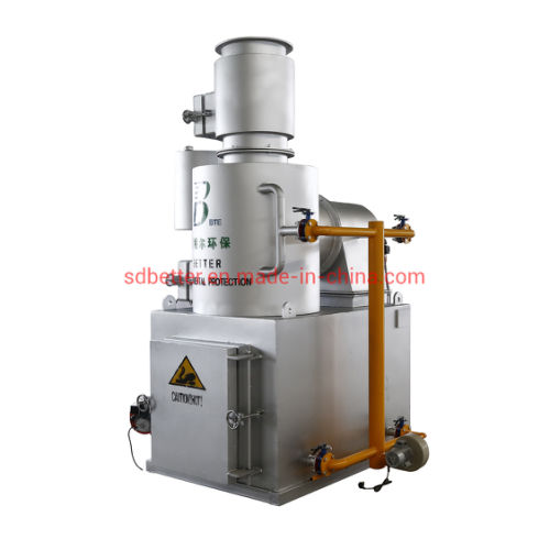 Solid Waste Treatment Incinerator, Smokeless Type with Ce Certificate