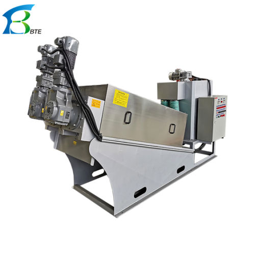 New Technology High Efficiency Screw Press Sludge Dewatering Industrial Equipment