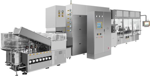 Ampoule Washing-Drying-Filling-Sealing Compact Line